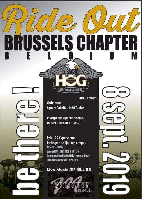 Affiche Brussels Ride Out
